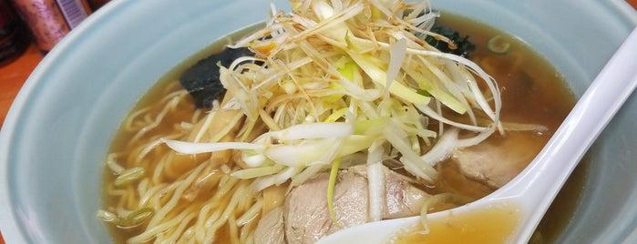 関取りラーメン 竜軒 is one of 500円以内で食べられるラーメン.