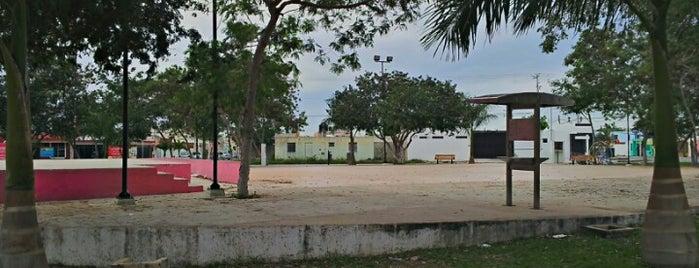 Parque La Capilla is one of Tempat yang Disukai Joaquin.
