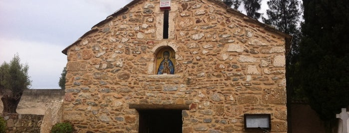 Ιερός Ναος Κοιμήσεως Θεοτόκου Παλαιοπαναγιας is one of maria'nın Beğendiği Mekanlar.