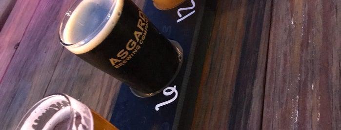 Asgard Brewing Company is one of Lugares favoritos de Trevor.