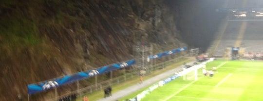 Estádio Municipal de Braga is one of The Great Football Pilgrimage.