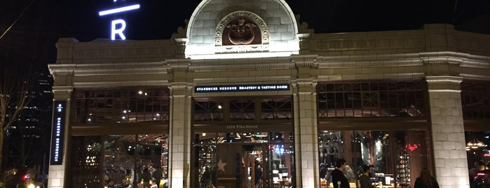 Starbucks Reserve is one of Seattle.