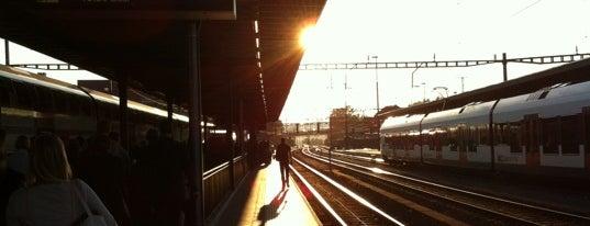 Bahnhof Rotkreuz is one of schon gemacht 2.