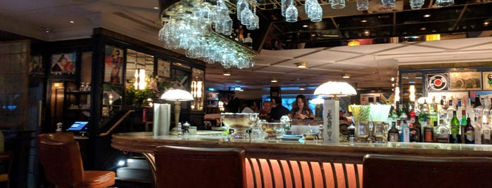 The Ivy Soho Brasserie is one of London I.