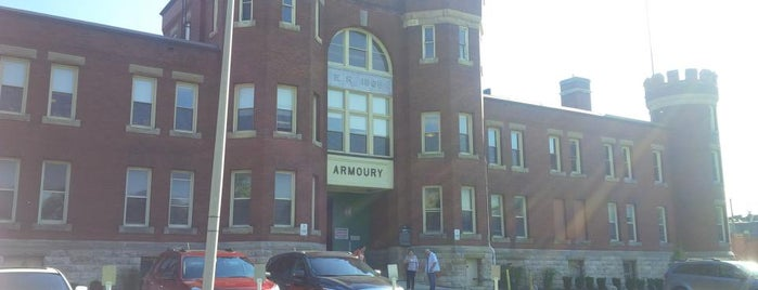 The Armoury Banquet & Conference Centre is one of Lugares favoritos de Steve.
