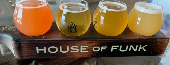 House of Funk Brewing is one of North Shore.