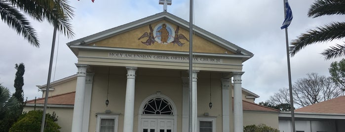 Holy Ascension Greek Orthodox Church is one of Orthodox Churches - Florida.