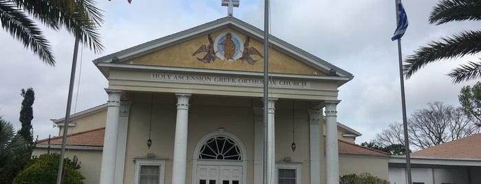 Holy Ascension Greek Orthodox Church is one of Orthodox Churches - Florida.