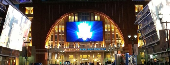 American Airlines Center is one of NHL (National Hockey League) Arenas.