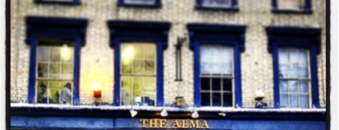 The Alma is one of Great Pubs.