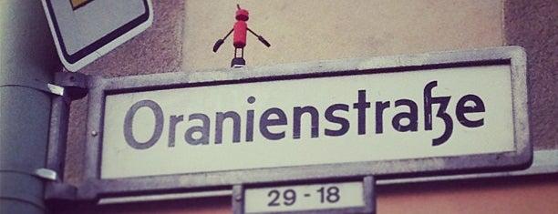Oranienstraße is one of Lieux sauvegardés par Kübra.
