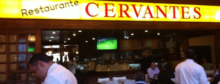 Cervantes is one of Restaurante.