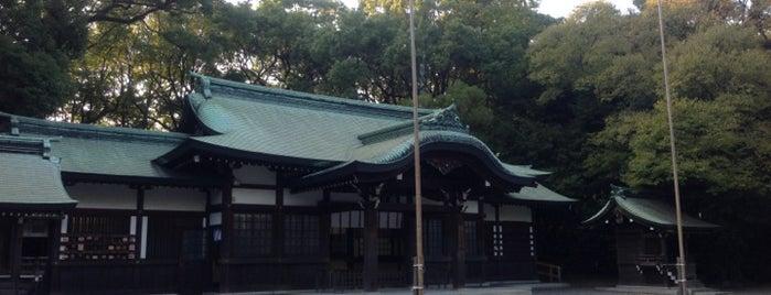 上知我麻神社 is one of 愛知に旅行したらココに行く!.