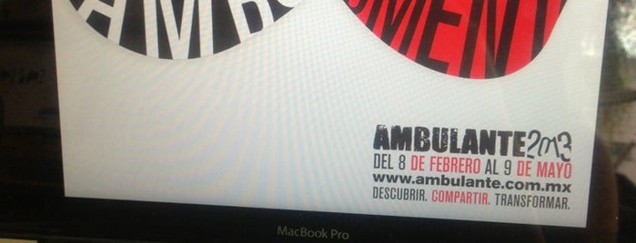 Ambulante is one of Colonia Roma.