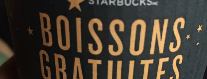 Starbucks is one of Orte, die Joshua gefallen.