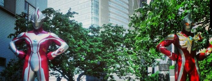 ウルトラマン休憩所 is one of Tokyo.