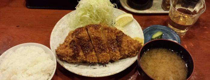 とんかつ かつ壱 is one of Hideさんの保存済みスポット.