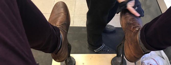 Cobbler Express Shoe Repair is one of NYC: Chores.