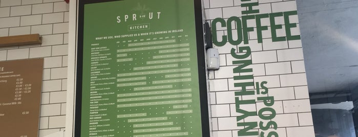 Sprout & Co Kitchen is one of Dublin: Favourites & To Do.