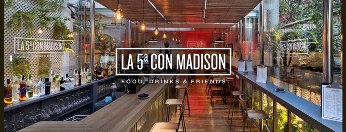 La 5ª con Madison is one of Madrid.