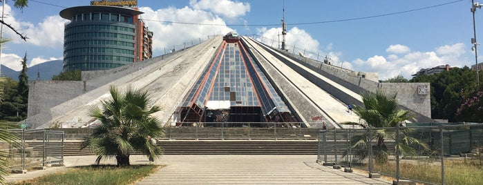 Pyramid Of Tirana is one of Tiran.