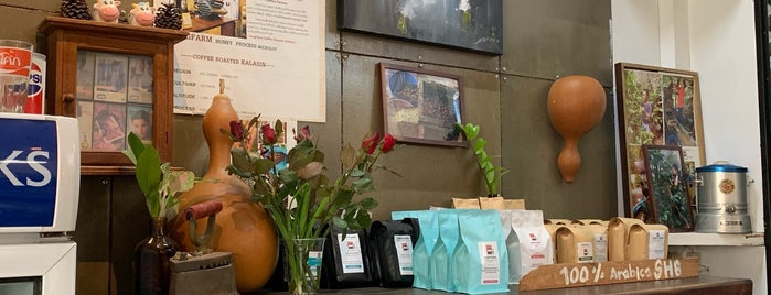Sing Farm Coffee Roasters is one of Yodpha : понравившиеся места.