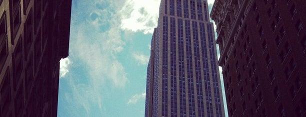エンパイア ステート ビルディング is one of A Trip to New York.