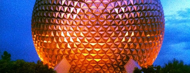 Epcot is one of Disney Around The World.