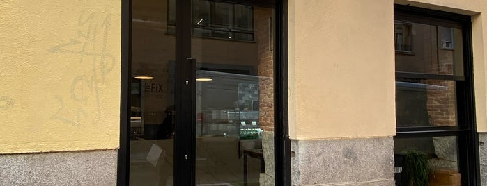 The Fix is one of Third wave/specialty coffee in Madrid.