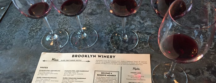Brooklyn Winery is one of Great Wine.