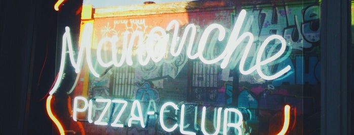Manouche Pizza Club is one of Chile.