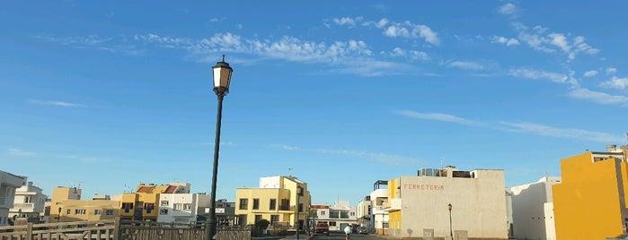 El Cotillo is one of Fuerteventura.