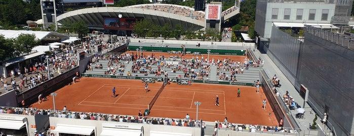 Court n°7 is one of Grand Slam.