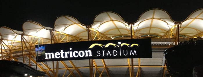 Metricon Stadium is one of [todo] Gold Coast.