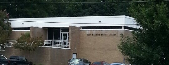 East Marietta Library is one of The Chad.