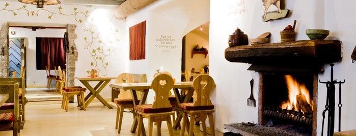 Kuldse Notsu Kõrts (Golden Piglet Inn) is one of Talinn, Estonia.