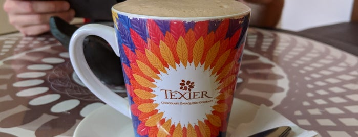 Texier chocolatería is one of oaxaca.