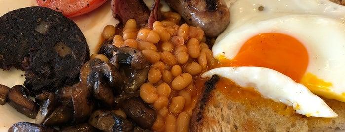 Chucs Cafe Kensington is one of London LIST.