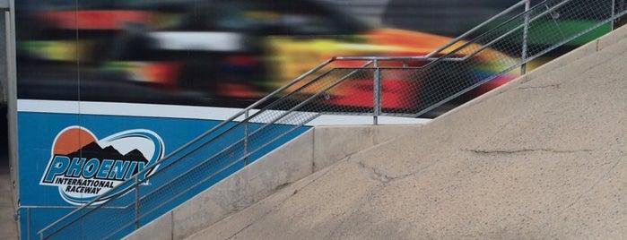 Phoenix International Raceway Media Center is one of Sports Venues.
