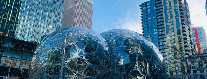 Amazon - The Spheres is one of Sleepless in Seattle ❤️.