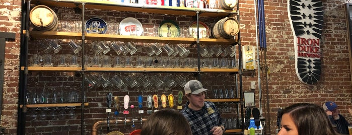 Iron Duke Brewing is one of Western MA.