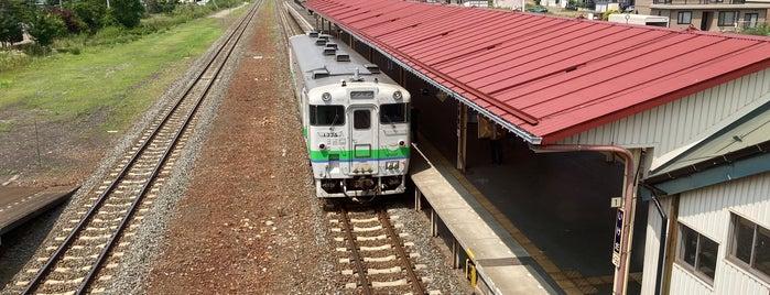 Ikeda Station is one of JR 홋카이도역 (JR 北海道地方の駅).