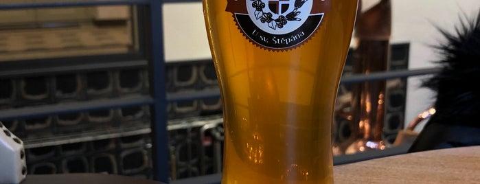 Biskupský pivovar u sv. Štěpána is one of Lieux qui ont plu à Zuzana.