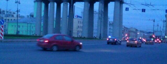 Московские ворота is one of Интересные места. Санкт-Петербург..