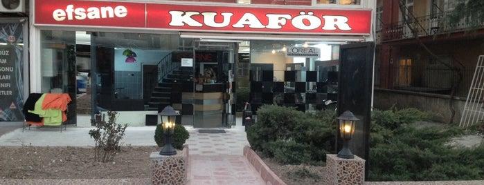 Efsane Kuafor is one of Lugares favoritos de Damla.