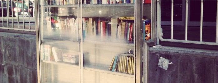 Bücherschrank an der KHG is one of Givebox / Bücherschrank.