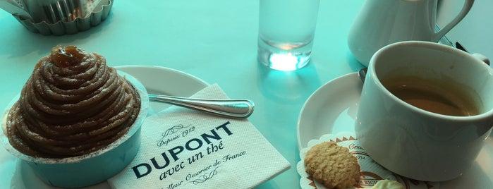 Dupont avec un thé is one of Trouville.