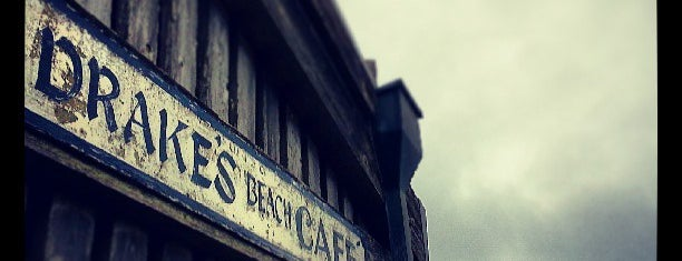 Drake's Beach Cafe is one of Eco Eating North Bay.