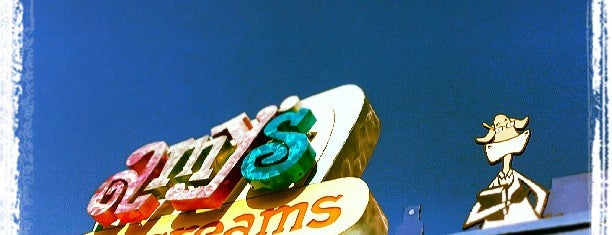 Amy's Ice Creams is one of Lugares favoritos de Anthony.