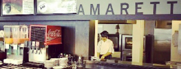 Amaretto Bakery Café is one of Montevideo.